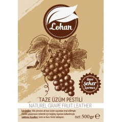 Grape Fruit Leather,  %100 naturel , no sugar,  drysun, 500 gr